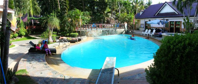 Panorama panglao tropical villas pool 2200